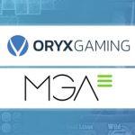 ORYX Gaming adds Grupo MGA content to its platform