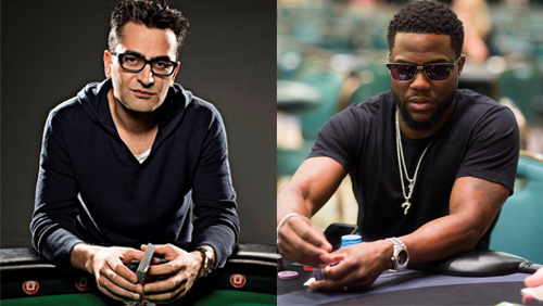 Antonio Esfandiari and comedian Kevin Hart could be set to trade jabs in the boxing ring