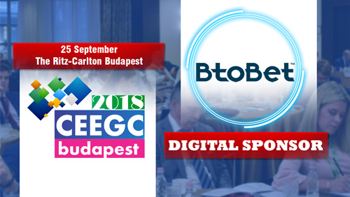 BtoBet becomes Digital Sponsor at CEEGC 2018 Budapest