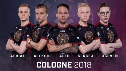 GiG's iGaming operator Rizk sponsors ENCE eSports team