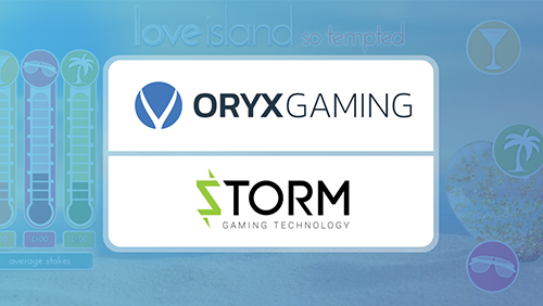 ORYX storms ahead with latest content partnership