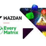 Wazdan goes live with EveryMatrix