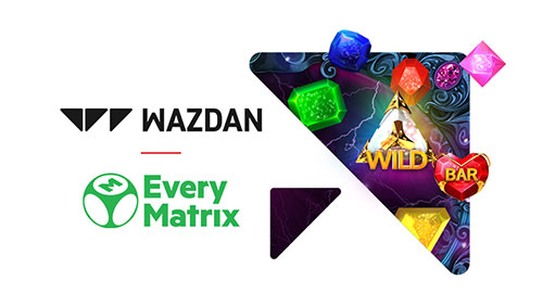 Wazdan goes live with EveryMatrix
