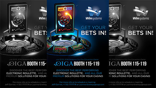 Win Systems will show its leading Gold Club electronic roulette at OIGA