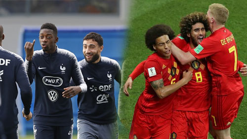 World Cup round-up: Belgium and France progress in a night of European dominance