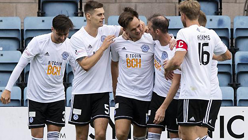 Ayr United FC continue to lead the Championship after Dunfermline slaughter