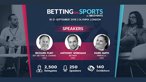 Betting on Sports Week Welcomes 250 Expert Speakers to Olympia London