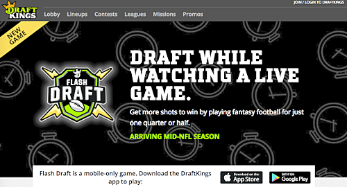draftkings-flash-draft-in-play-fantasy-sports