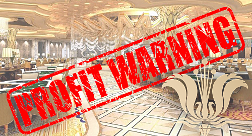 Imperial Pacific profit warning on mounting VIP gambling debts
