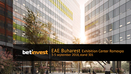 Meet up with Betinvest at Entertainment Arena Expo 2018 – Bucharest