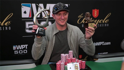 Michael Copeland wins the WPT500 in LA; Savage is loving the Big Blind Ante