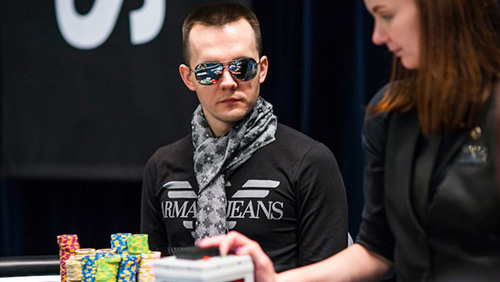 Mikita Badziakouski continues the tear winning the €100k SHR at EPT Barcelona