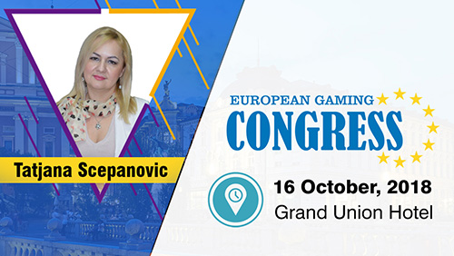 Montenegro in the focus at the inaugural European Gaming Congress (EGC) with Tatjana Scepanovic (Montenegro Bet)