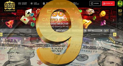 New Jersey, Golden Nugget break online gambling records