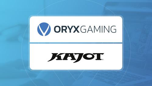 ORYX kicks on with Kajot Games partnership