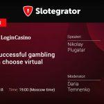 "Webinar by Slotegrator and Login Casino: ""Why do successful gambling operators choose virtual sports?"""
