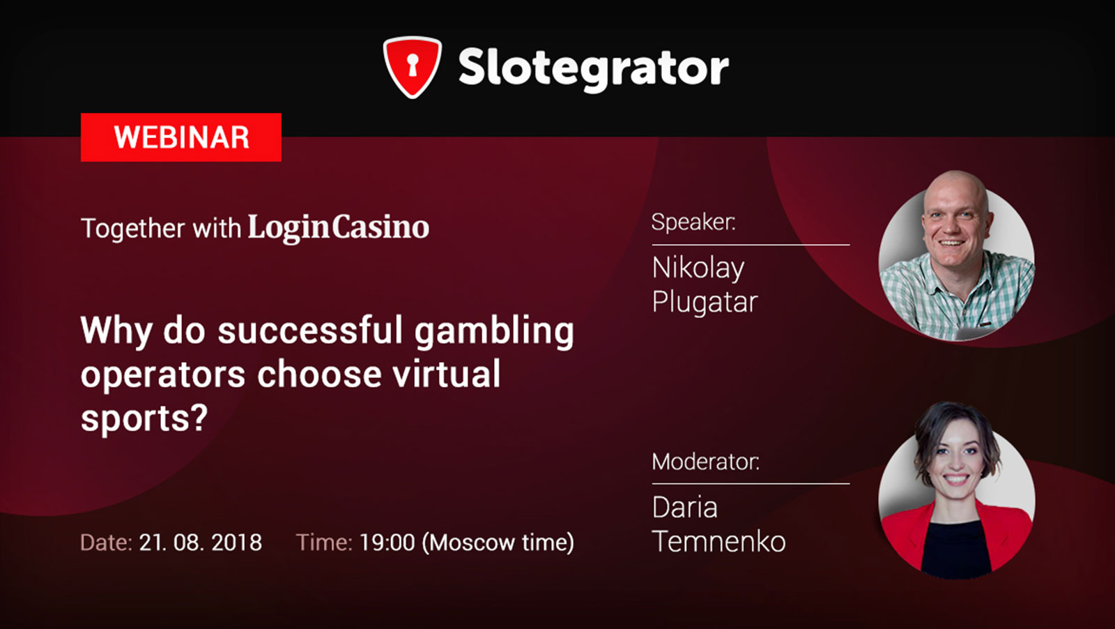 "Webinar by Slotegrator and Login Casino: ""Why do successful gambling operators choose virtual sports?"""