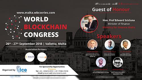 The World Blockchain Congress Malta 2018