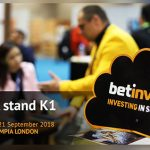 Betinvest goes to the Betting on Sports 2018 with special offers