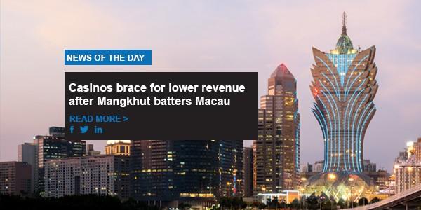 Macau casinos brace for lower revenue after Typhoon Mangkhut batters gambling mecca