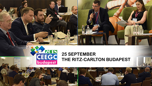 CEEGC 2018 Budapest - Less than a week until kick off, see who is attending and why you should not miss it