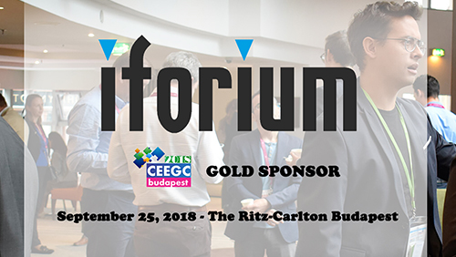 Iforium will be Gold Sponsor at CEEGC 2018 Budapest