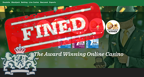 MRG's Mr Green online casino fined €312k by Dutch regulator