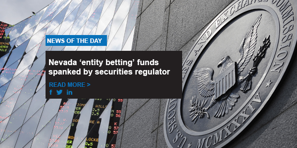 evada 'entity betting' funds spanked by securities regulator