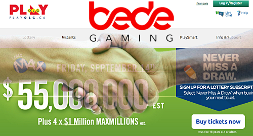 ontario-lottery-gaming-bede-digital-platform