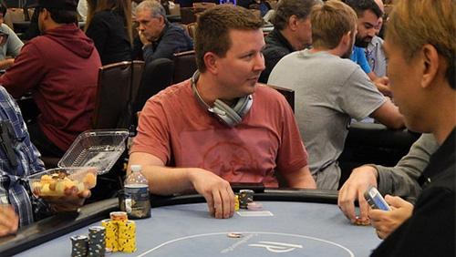 Tim Burt's the big winner at the Gulf Coast Poker Championship