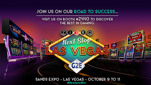 ZITRO IS ON A ROLL AND READY TO ROCK IN LAS VEGAS