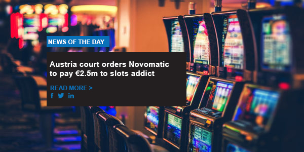 Austria court orders Novomatic to pay €2.5m to slots addict