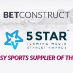 BetConstruct is Best Fantasy Sports Supplier of 2018 as per Starlet Awards