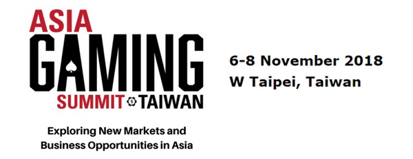Three Weeks Left to Asia Gaming Summit Taiwan