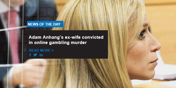 Adam Anhang's ex-wife convicted in online gambling murder