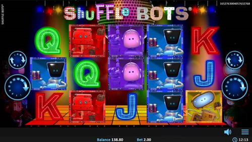 Get in the groove with Realistic Games' Shuffle Bots®