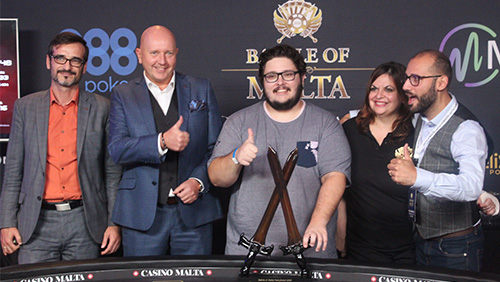 Julien Stropoli wins record Battle of Malta event after a five-way chop