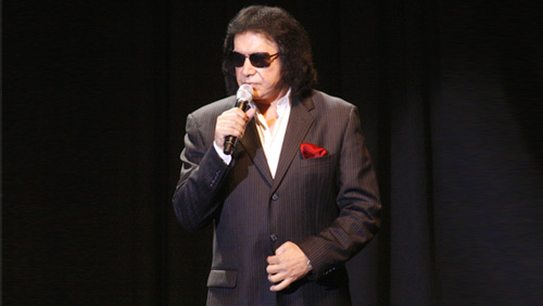 KISS front man Gene Simmons to be honored at celebrity poker tournament