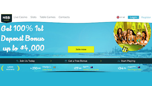 Nissi Online Casino adds Authentic Gaming casino games