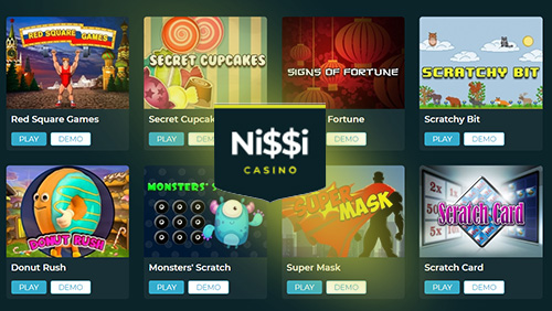 Nissi Online Casino adds PariPlay Casino Games