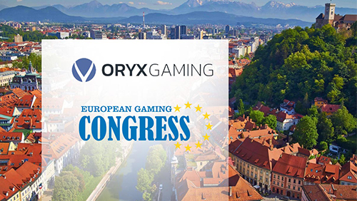 ORYX Gaming announced as General Sponsor for the inaugural European Gaming Congress (EGC2018)