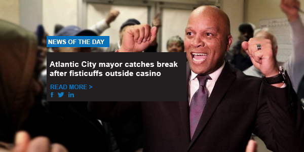 Atlantic City mayor catches break after fisticuffs outside casino