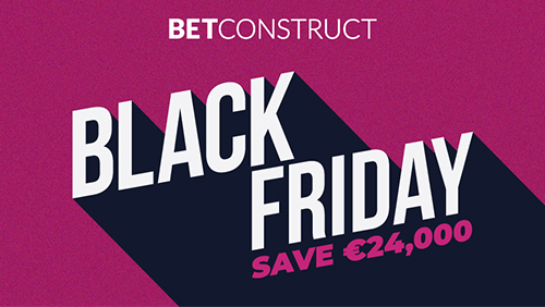 BetConstruct announces Black Friday promotion!