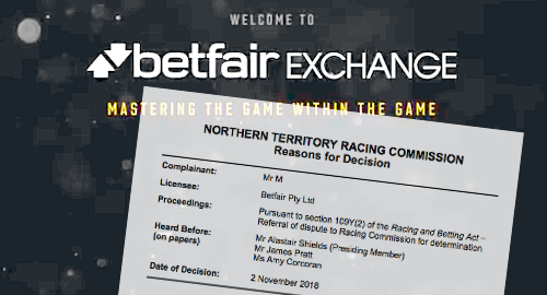 Betfair Australasia ordered to refund $150k to problem gambler