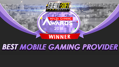 Betsoft Gaming Named Best Mobile Gaming Provider at Malta Gaming Awards