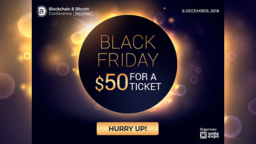On Black Friday only: tickets to Blockchain & Bitcoin Conference Philippines for $50