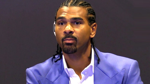 David Haye - proud pugilist, poor poker player
