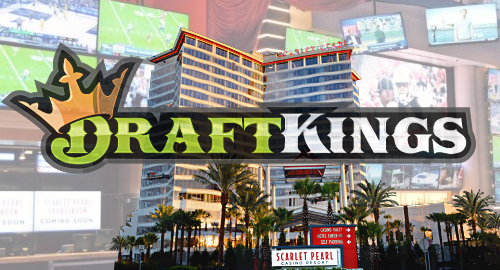 DraftKings prep sportsbook at Mississippi's Scarlet Pearl casino