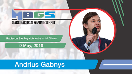 European Gaming announces Andrius Gabnys (Gabnys Law Firm) as ambassador for MARE BALTICUM