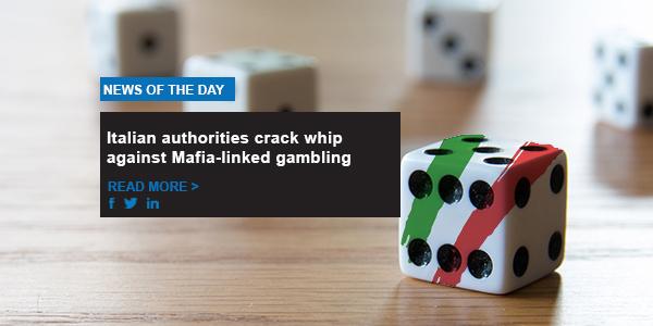 Italian authorities crack whip against Mafia-linked gambling